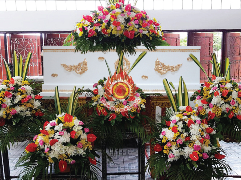 silver 2 สุริยาหีบศพ โลงศพ หีบศพ ดอกไม้หน้าศพ บริการครบวงจร