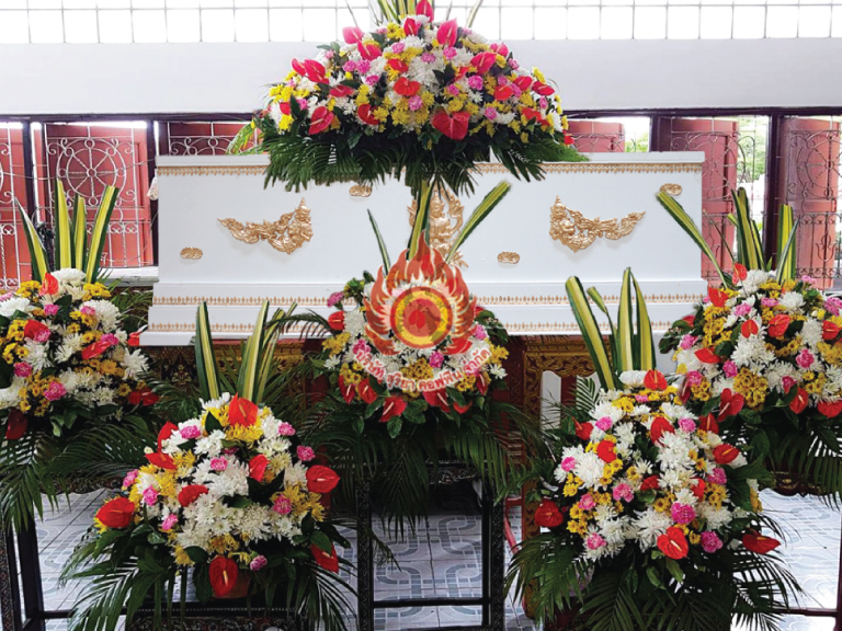 silver 3 สุริยาหีบศพ โลงศพ หีบศพ ดอกไม้หน้าศพ บริการครบวงจร