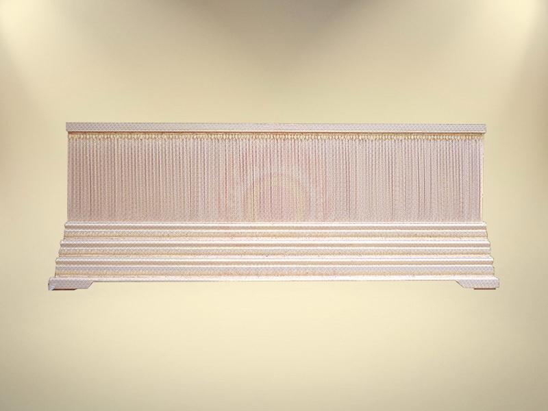 หีบบุผ้าตาดทองย่นฐาน 3 ชั้น ขายโลงศพ โลงศพราคา
