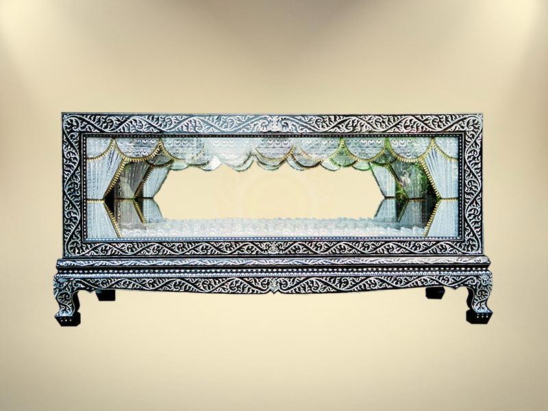 หีบกระจกมุก ขายโลงศพกระจกทอง จำหน่ายโลงศพทุกรูปแบบ