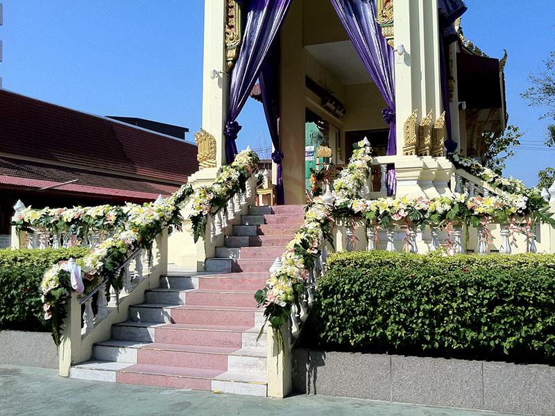 ดอกไม้ประดับเมรุ หีบศพ โลงศพ สุริยาหีบศพ เราเป็นผู้เชียวชาญ