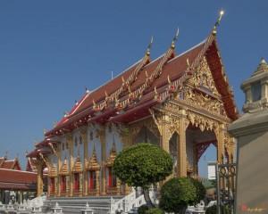 2009 Photograph, Wat Samian Nari Ubosot, Lat Yao, Chatuchak, Bangkok, Thailand.© 2012. ภาพถ่าย ๒๕๕๒ วัดเสมียนนารี พระอุโบสถ ลาดยาวจตุจักรกรุงเทพประเทศไทย