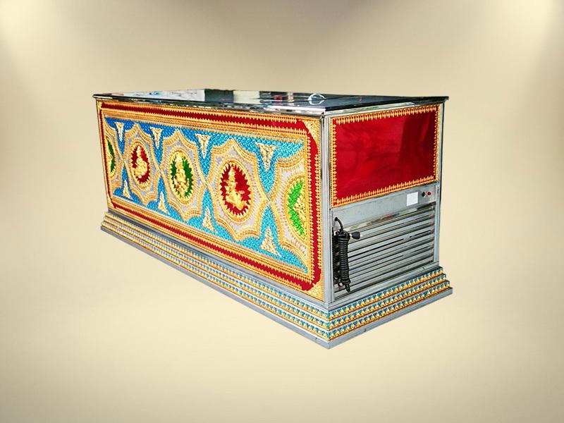 โลงเย็นลายนูน หีบปรับอากาศโลงเย็นมาตรฐาน ขายโลงศพ โลงศพราคา